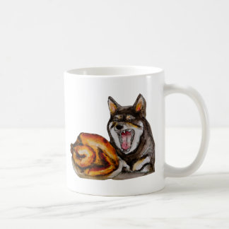 Miya the hangry dog coffee mug