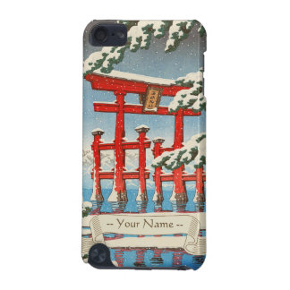 Miyajima in Snow Hasui Kawase shin hanga art iPod Touch (5th Generation) Case