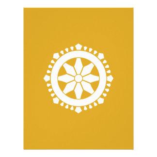 Miyake wheel treasure letterhead