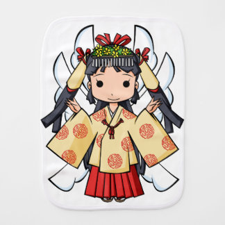 Miyako inThe sky English story Omiya Saitama Burp Cloth