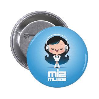 Miz Muze Button