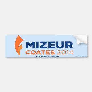 Mizeur Coates 2014 Bumper Sticker