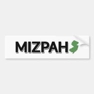 Mizpah, New Jersey Bumper Sticker