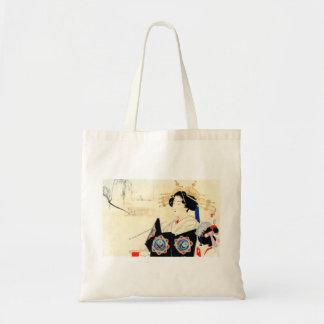 Mizuno Toshikata 水野年方, Courtesan - Asian Art Tote Bag