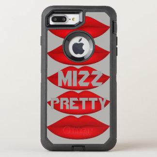 Mizz Pretty, Gray & Red Otterbox Case