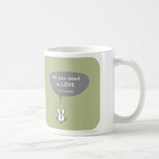 MJ1557 all you need is love cheesecake Coffee Mug