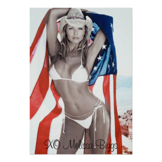 MJB Swimsuit Calendar American Shot, XO Melissa... Poster