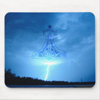 Mjolnir Strikes Mouse Pad