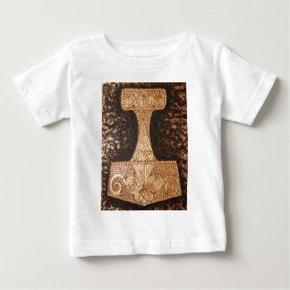 Mjolnir, thor's hammer baby T-Shirt
