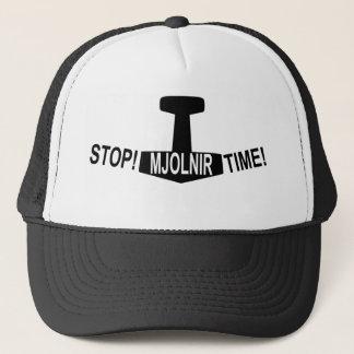 Mjolnir Time! Baseball Cap