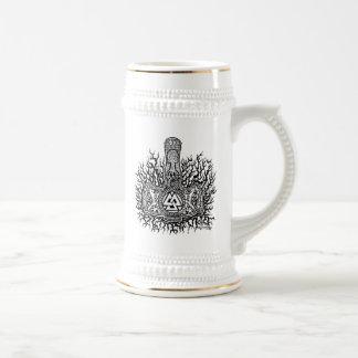 Mjolnir - Valknut Beer Stein