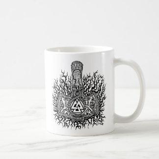 Mjolnir - Valknut Coffee Mug