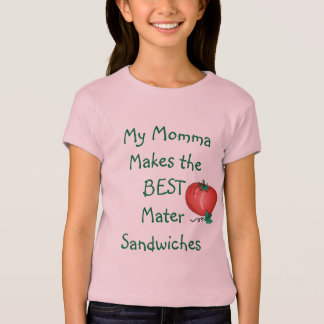 MJWC Girls' Mater Sandwich Shirt