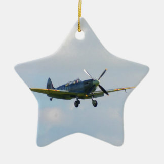 MKIX Spitfire Ceramic Ornament
