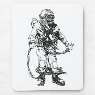 MKV Commecial Deep Sea Dive Rig Mouse Pad