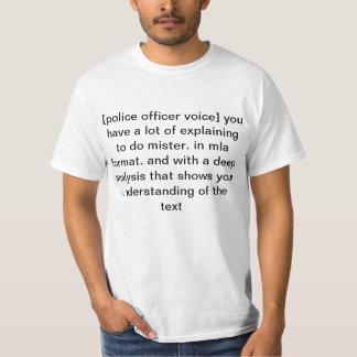 mla format T-Shirt