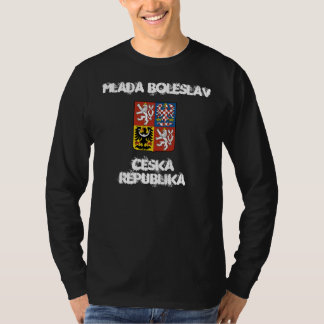 Mlada Boleslav, Czech Republic with coat of arms T-Shirt