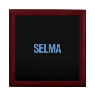 MLK Day-Selma Blue on Black Gift Boxes