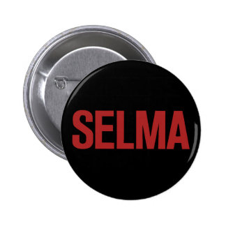 MLK Day-Selma-Red on Black 2 Inch Round Button