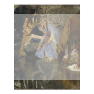 Mlle Fiocre in Ballet La Source by Edgar Degas Flyer