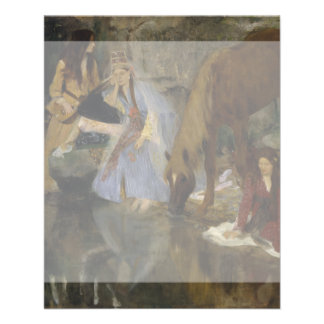 Mlle Fiocre in Ballet La Source by Edgar Degas Personalized Flyer