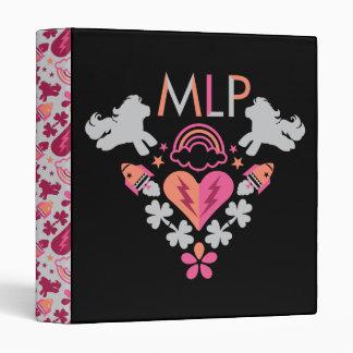MLP Retro Logo Vinyl Binder
