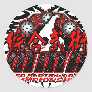 MMA 04 CLASSIC ROUND STICKER