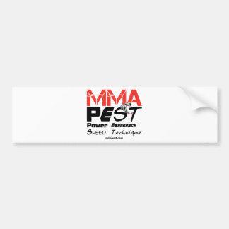 MMA Clothing, MMA Apparel, MMA Gear - Accessories Bumper Sticker