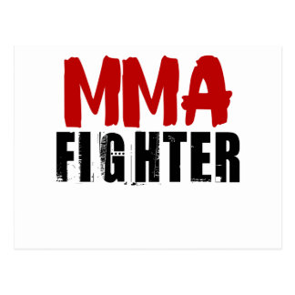 MMA Fighter3 Postcard