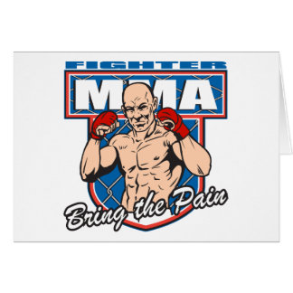 MMA Fighter Card