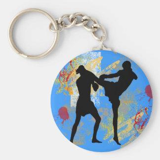 MMA Head Kick Keychain