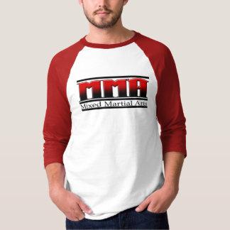 MMA Mixed Martial Arts Black & Red T-Shirt