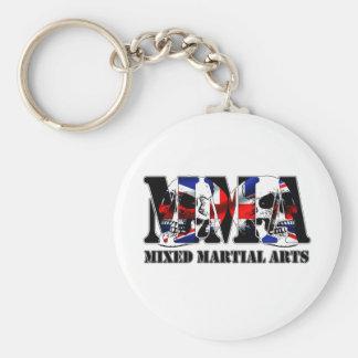 MMA Mixed Martial Arts UK Skulls Keychain
