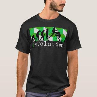 mma (r)evolution chart green cube t-shirt