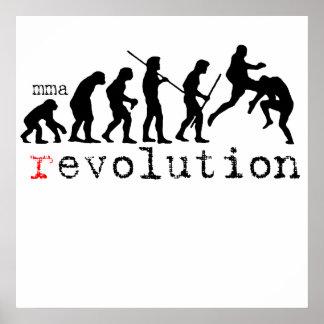 mma (r)evolution chart Poster Print