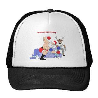 MMA Santa Vs Jack Frost Mesh Hat