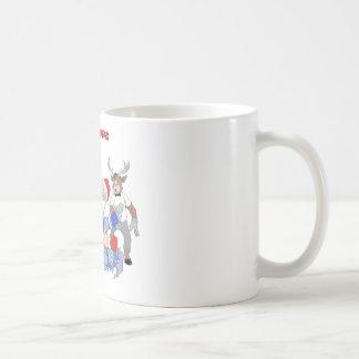MMA Santa Vs Jack Frost Coffee Mugs