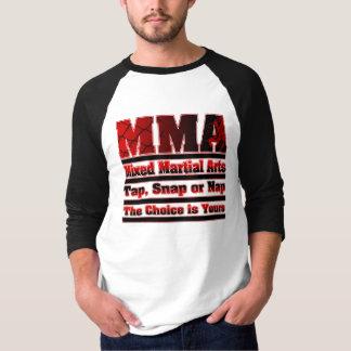MMA Tap, Snap or Nap Mixed Martial Arts T-Shirt