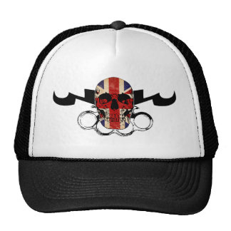 MMA United Kingdom Skull Trucker Hat