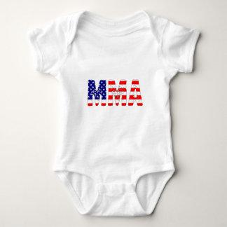 MMA USA Flag Baby Bodysuit