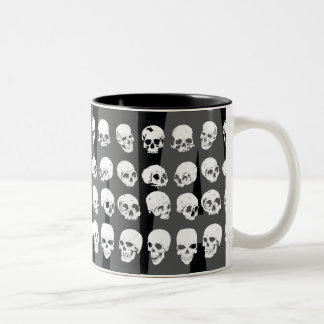 MMA VICTORY SKULLS Two-Tone COFFEE MUG