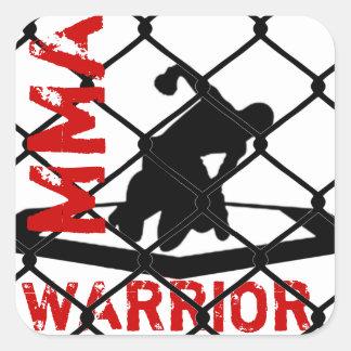 MMA WARRIOR Sticker