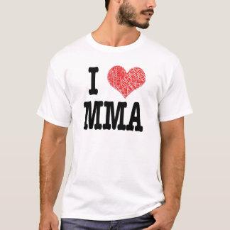 MMAUK - I <3 MMA T-Shirt