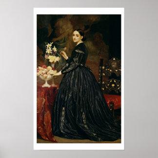 Mme James Guthrie, c.1864-5 (huile sur la toile)