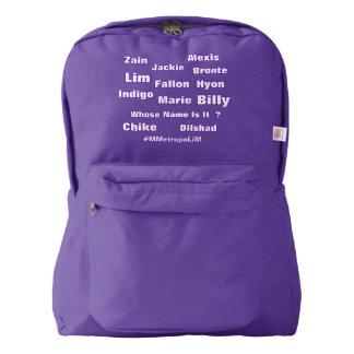 "MMetropolim ""American Apparel "" Backpack"