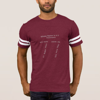 "MMetropolim ""Men's FootBall T-Shirt"
