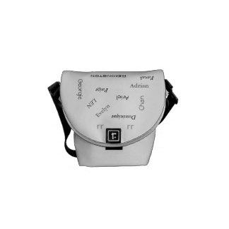 "MMetropoLim ""Whose Name Is It ?Collection"" bag Messenger Bag"