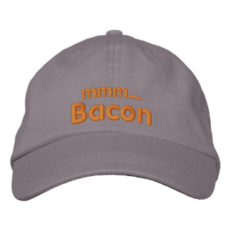 MMM ... Bacon Love Embroidered Hat