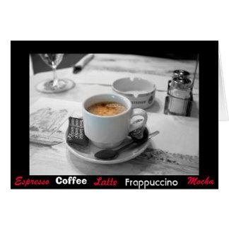 Mmm ... Coffee Card