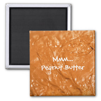 Mmm...Peanut Butter Square Magnet